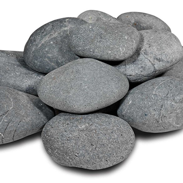 Beach pebbles zwart | 30-60mm